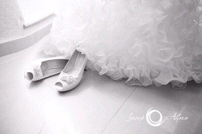 Brautschuhe aus Satin – Modelle für 2013