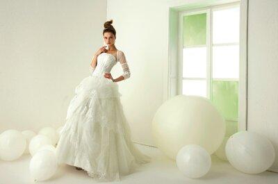 100 najpiękniejszych sukien ślubnych na rok 2015!