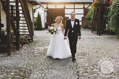 Cudowny ślub i wesele w zagrodzie! Stylowe i eleganckie!