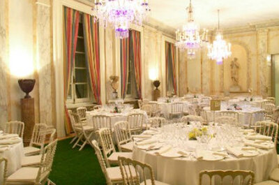Consigue una boda de princesa con estos palacios para bodas en Granada