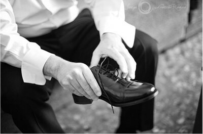 The Right Shoes and Suit for a Wedding