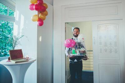 Auf Nimmerwiedersehen, unnütze Hochzeitsgeschenke! Die Online-Hochzeitsliste von Zankyou macht es möglich