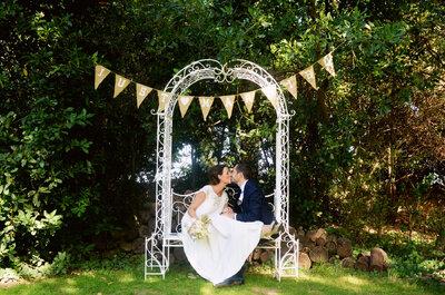 Mathilde et David : Un superbe mariage sur le thème de la brocante dans un château chargé d'histoire