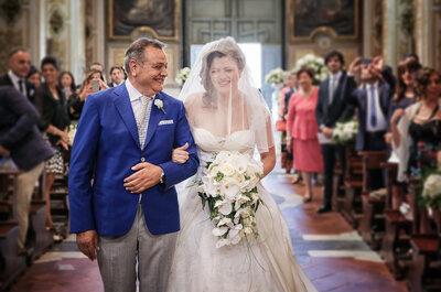 Chi accompagna la sposa all'altare? Tempi moderni, regole nuove!