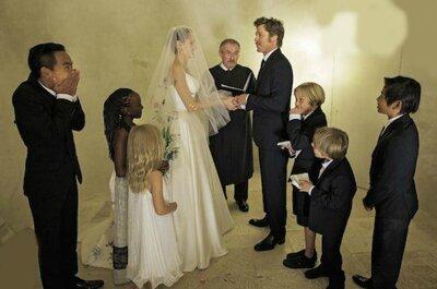 Trendy come Brad Pitt? Allora sposati nel tuo abito usato!