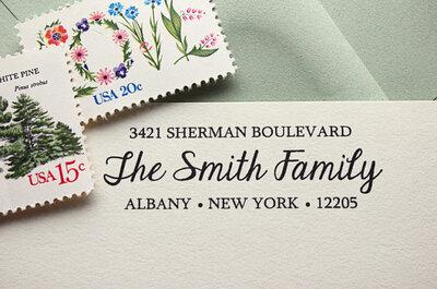 Invitaciones de boda vistas en Etsy