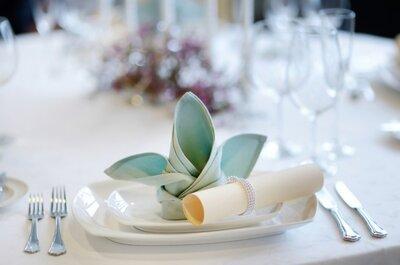 Un casamiento a puro celeste y blanco. Sugerencias para una combinación increíble