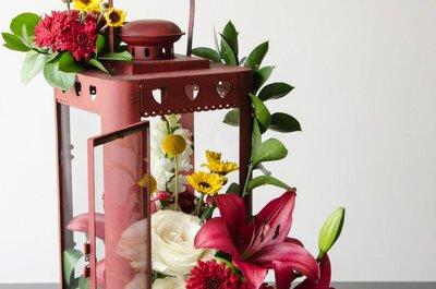 ¿Cómo crear la decoración floral perfecta para tu boda? Descúbrelo con Prunier