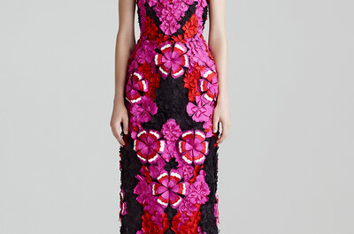 Las invitadas que saben de moda usan los vestidos de Alexander McQueen 2015
