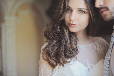 Adapte o penteado à cor do cabelo e faça furor no seu casamento