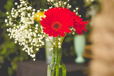 Wie dekoriert man mit einfachen Glasgefäßen seine Hochzeit? Einfache Hochzeitsdekoration mit Wow-Effekt