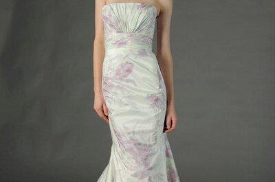 Vestidos de novia 2013 en colores nude y pastel