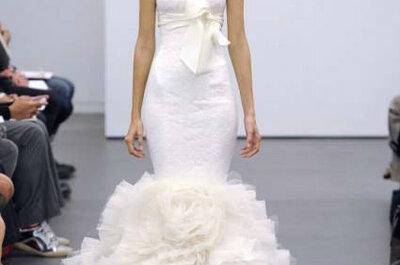 Colecção de vestidos de noiva Vera Wang Outono 2013: Branco!