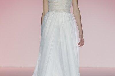 El regreso a la costura clásica: Vestidos de novia primavera 2015 de Hannibal Laguna