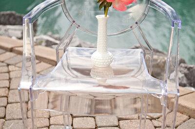 Cómo decorar con sillas ghost: La tendencia que te encantará para bodas 2016