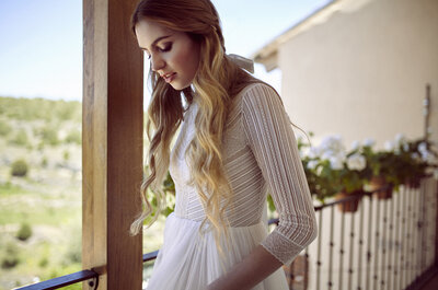 Tendencia TOP: una novia romántica, con estilo y ¡con pamela!