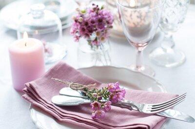 Delicada ambientación en la paleta de los rosados