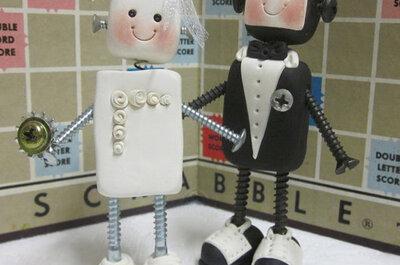 Figuras originales para pasteles de bodas