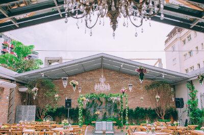 Onde fazer um casamento ao ar livre rústico-chic em plena São Paulo?