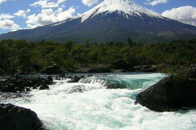 Vive tu luna de miel en las Termas del Callao, un refugio en la Patagonia