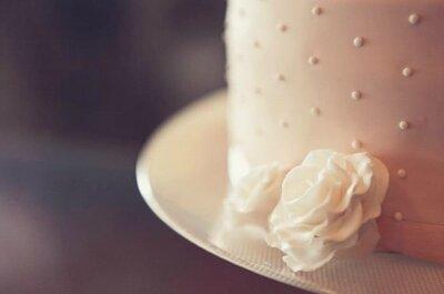 A receita para um bolo de casamento de sucesso
