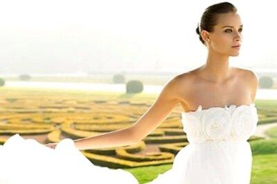 Schulterfreie Brautkleider von LILLY 2009
