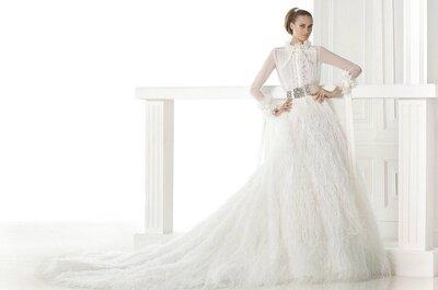 Trend bridal couture 2015: una sposa... nata con la camicia!