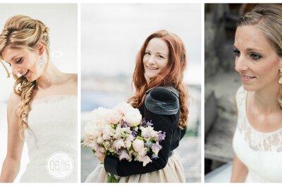 6 wunderschöne Brautfrisuren, die Sie sich für Ihre Hochzeit 2016 merken sollten!