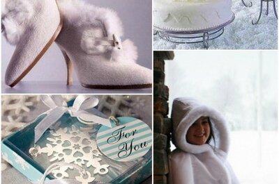 Te damos 8 razones para casarte en invierno