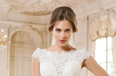 Lillian West 2015 Bridal Collection: Classic Lines, Metallic Tones & Exquisite Fabrics