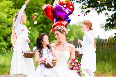Ihr Hochzeitstag wird auch für die Kleinen zauberhaft - mit der richtigen Kinderbetreuung!
