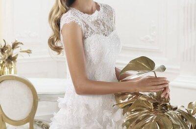 Vestidos de novia 2014 para boda civil o segundas nupcias