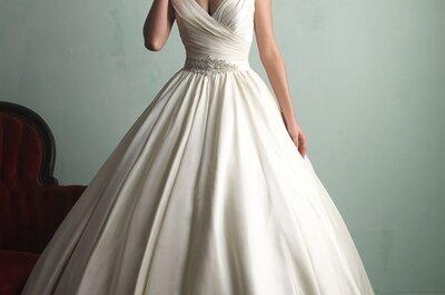 Découvrez les robes de mariée Allure Bridals 2015: entre élégance et glamour.