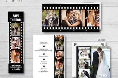 Faire-part de mariage exclusifs, de qualité et 100% personnalisables Carteland