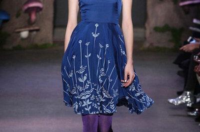 Invitadas 2015: Vestidos de fiesta en color azul klein, marino y cerúleo... ¡Sofisticación que conquista!