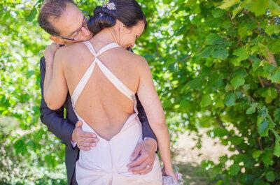 Unidos por el deporte: la boda llena de detalles de Carol y Genis