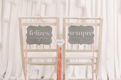 Decoração de casamentos: design pret-à-imprimer... no post do dia