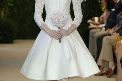 Colección completa de vestidos de novia Carolina Herrera – Primavera 2014