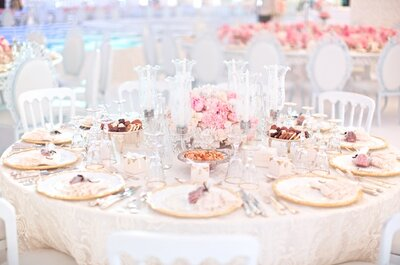 Rosa y blanco: La ecuación perfecta para una decoración inspirada en una princesa