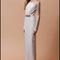 Vestido de novia con mangas largas, silueta columna y cuello ilusión para Pre Fall 2014 - Foto Badgley Mischka