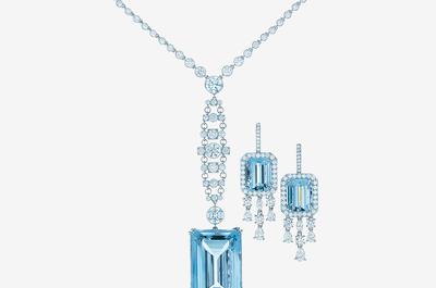 Joyas para novia con piedras preciosas de Tiffany & Co.