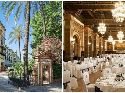 Supera las expectativas de tus invitados y sorprende con una boda en un lugar emblemático: el Hotel Alfonso XIII