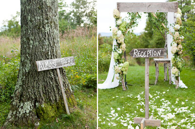 Ideas para decorar tu boda con carteles