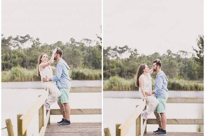 Com elas foi assim: os mais bonitos pedidos de casamento