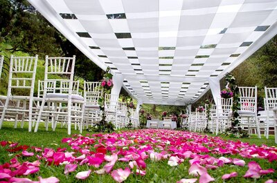Creativity from start to finish: Crea Global Eventos will create the perfect wedding for you