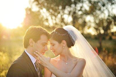 Andreia e Paulo: eles contaram com os profissionais que sempre sonharam para o seu casamento!