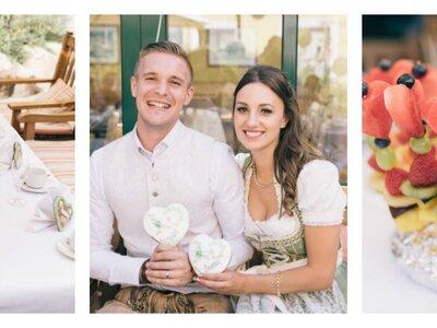 Traditionell bayerische Hochzeit – Sarah & Tobias gaben sich in Tracht das Ja-Wort