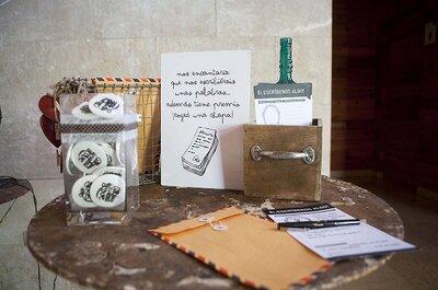 Invitaciones y regalos para invitados: Personaliza tu boda con diseño gráfico
