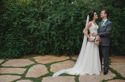 Casamento rústico chic ao ar livre com ensaio na Ásia de Luana e Daniel: lindíssimo!