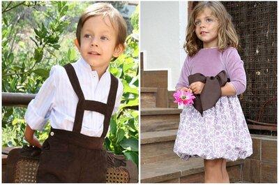 Tendencias en los trajes de los niños del cortejo